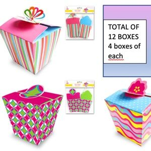 Party Craft Treat Box - 12 Boxes (3 Models)